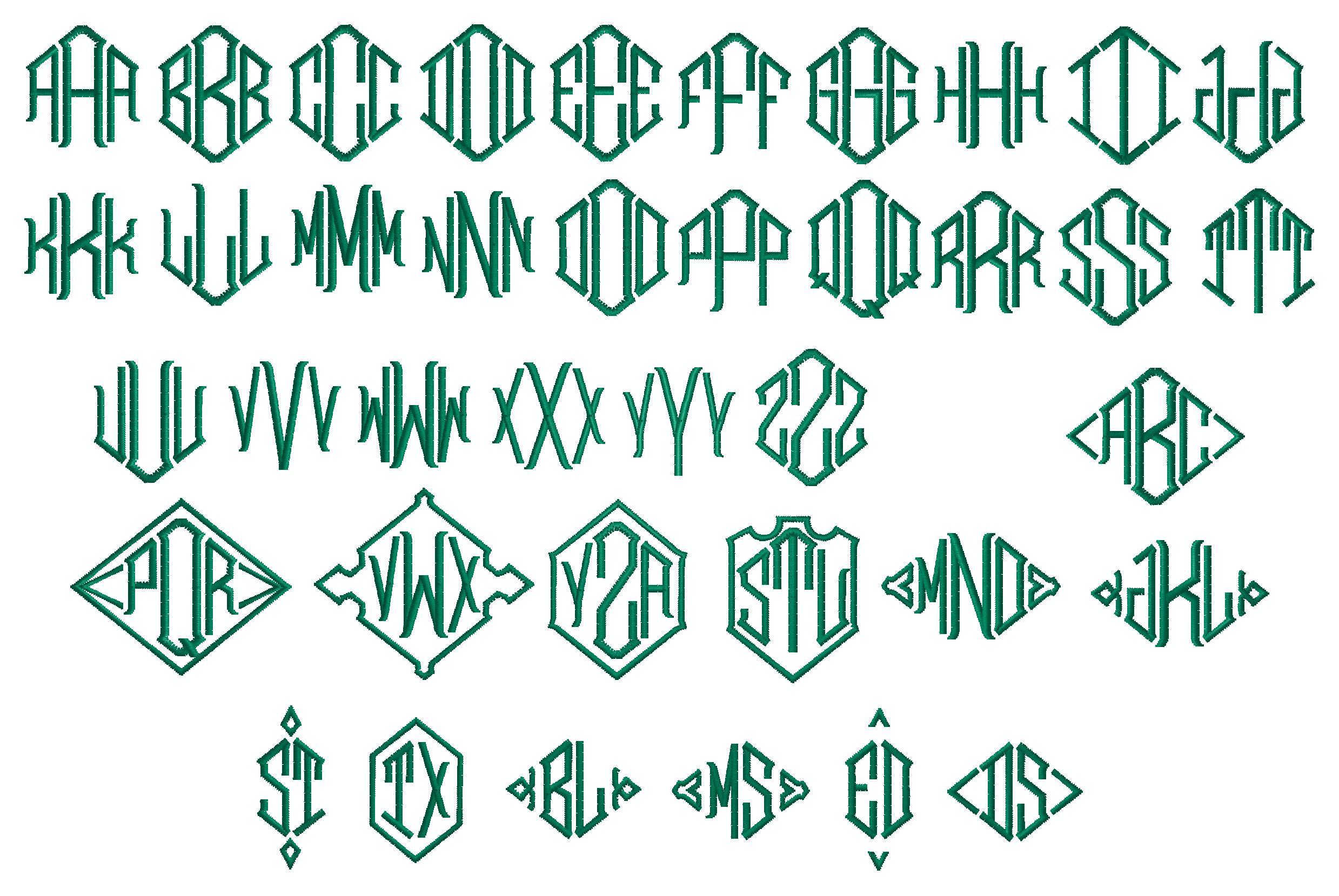 Letter Logos 3 letter diamond.